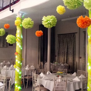 party flower decorations