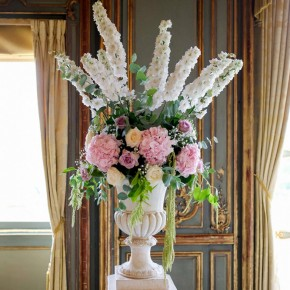 grand vase wedding flowers