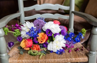 Brightest Wedding Flowers of 2015