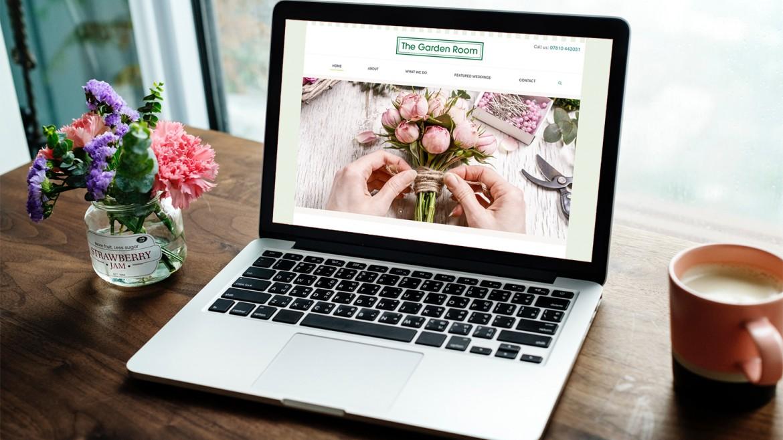 New Website for The Garden Room Flowers