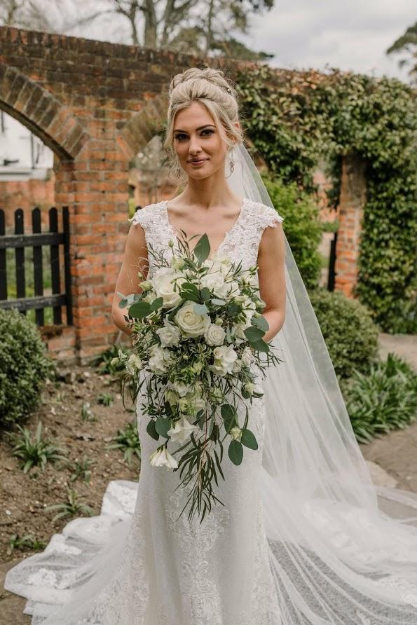 spring wedding flowers - shower bouquet berkshire