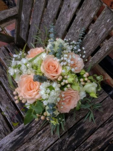 bridal bouquet, bucks