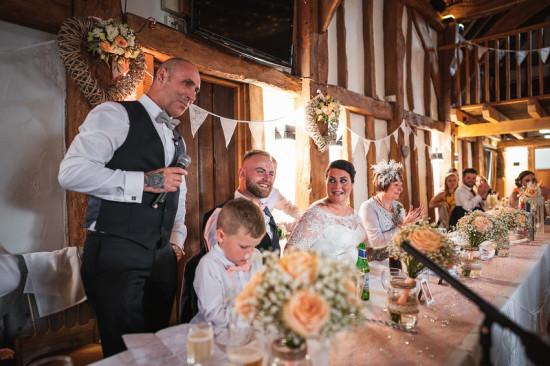 top table wedding flowers tudor barn, burnham