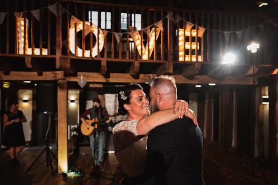 first wedding dance, tudor barn