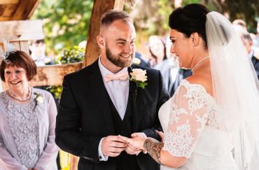 Summer Wedding of Donna & Joe at The Tudor Barn