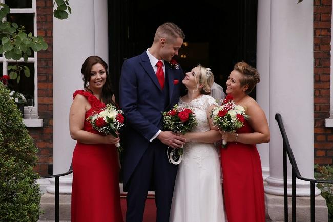 Wedding bouquets, Sir Christopher Wren Hotel, Windsor