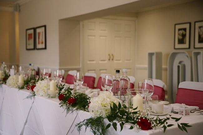 Sir Christopher Wren Hotel, Windsor, wedding reception