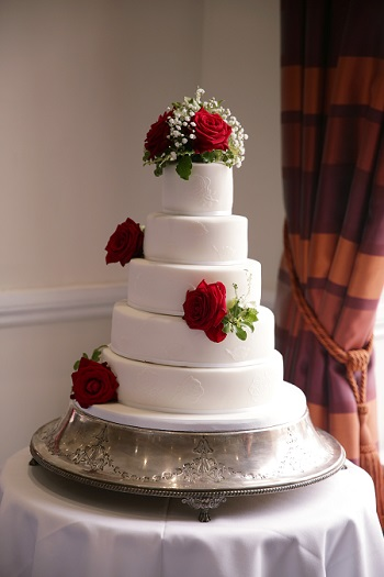 Wedding cake, Windsor, Berkshire