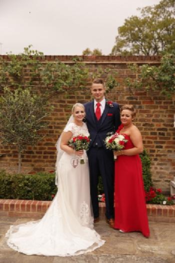 Wedding day, Windsor, Berkshire