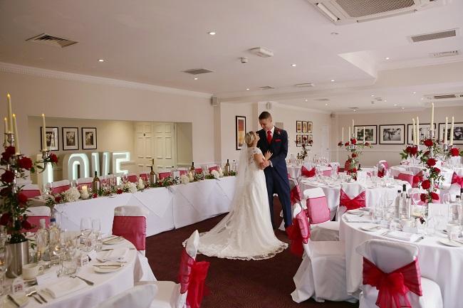 Wedding reception, Sir Christopher Wren Hotel, Windsor