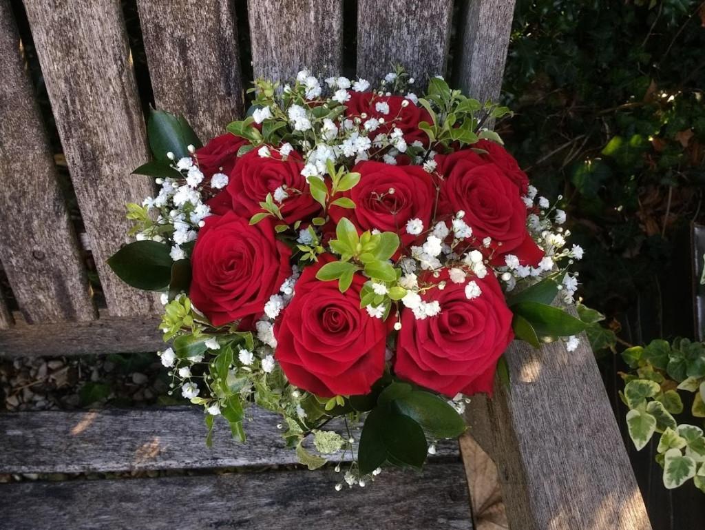 Bride's bouquet Sir Christopher Wren Windsor
