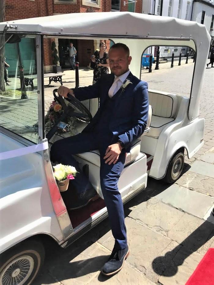 wedding car windsor