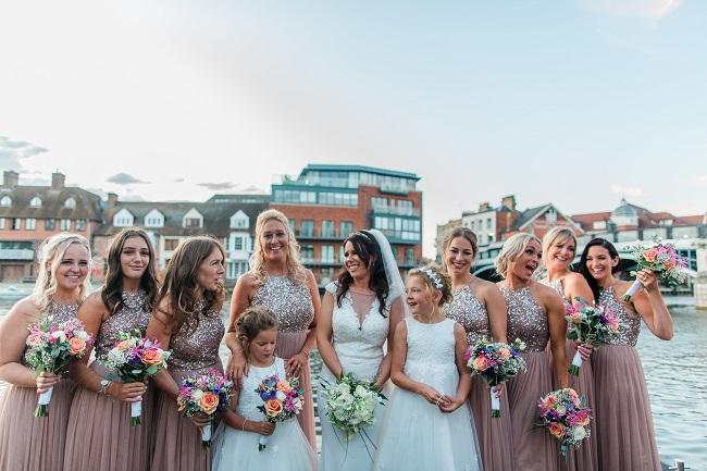 the sir christopher wren hotel, wedding bouquets
