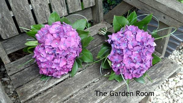 brightest hydrangea bouquet