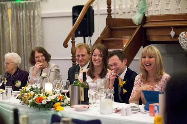 wedding top table flowers, kings chapel, amersham