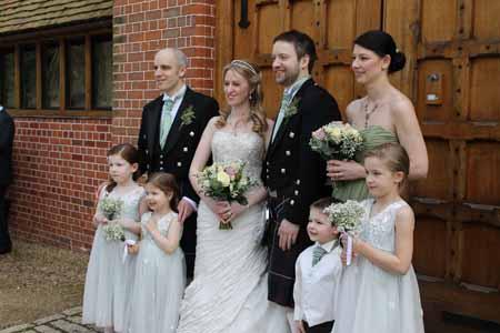 Wedding Party - wedding flowers buckingham