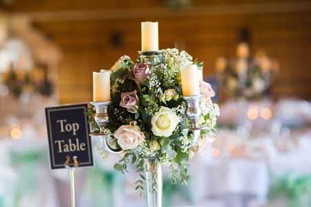 Centrepieces - wedding flowers buckingham