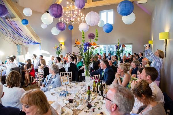 brightest wedding room decorations amersham
