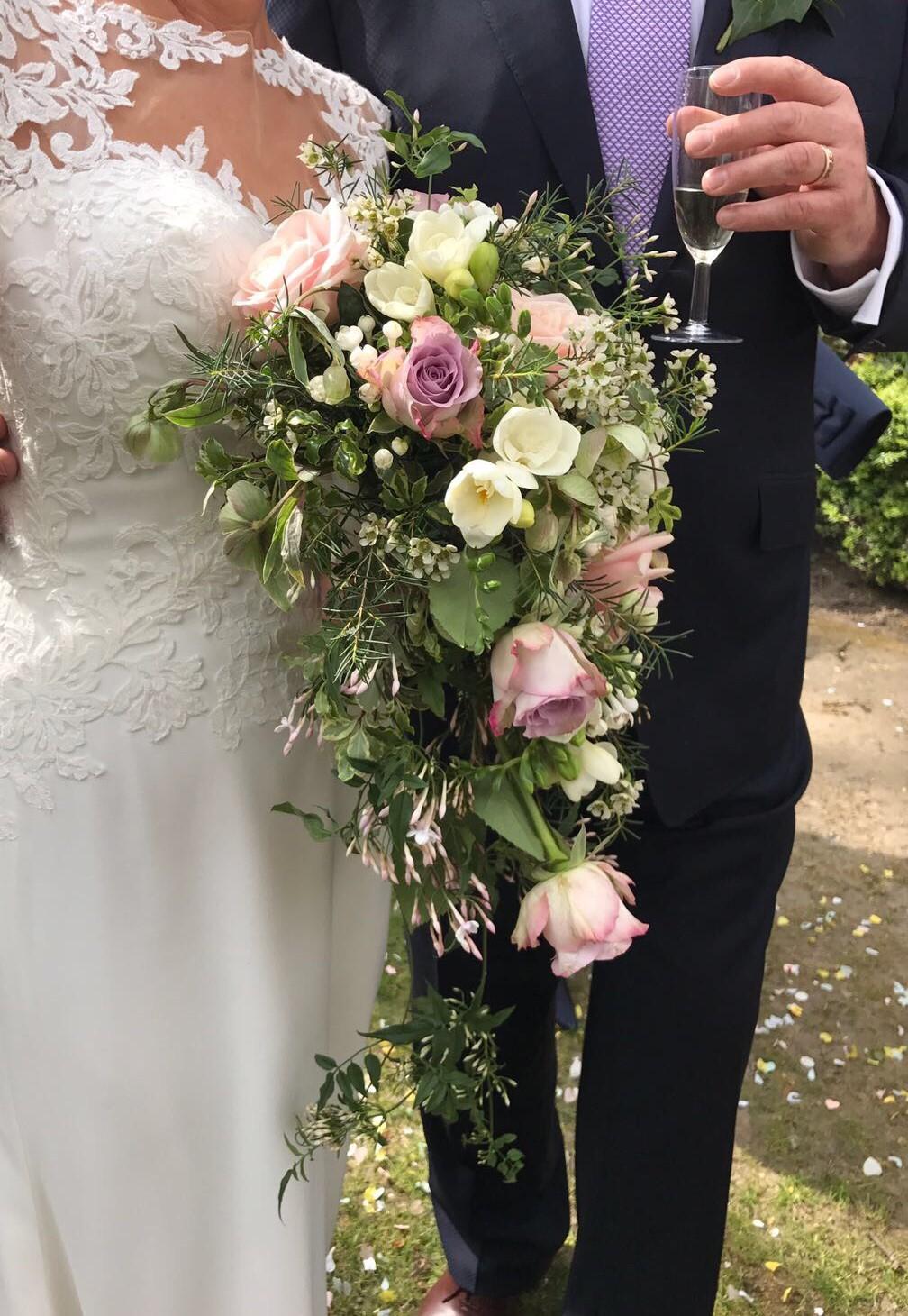 Wedding boquet arrangement Bucks