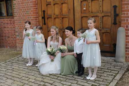 Waddesdon Manor - wedding flowers buckingham