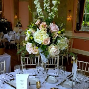 hedsor house, table decorations