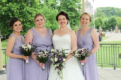 purple wedding bouquets marlow 2015