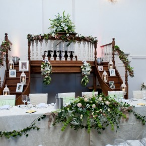 kings chapel venue decorations, amersham