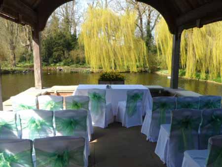 The Lake at Waddesdon Manor