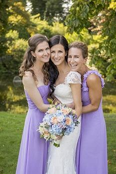 purple wedding flowers amersham 2015