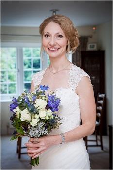 bride bouquet bisham abbey