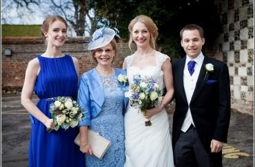 Blues at Bisham Abbey – Melanie and Damian