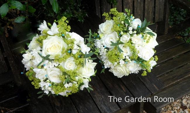 bridesmaid wedding bouquet buckingham