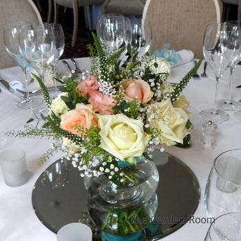 flower centrepieces, buckingham