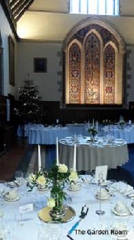 wedding flowers - great hall at bisham abbey