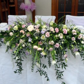 top table arrangements, bucks