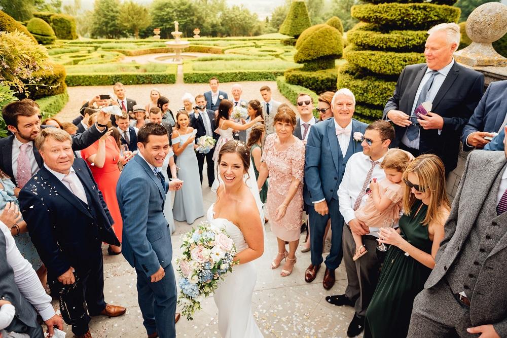 entire wedding at Danesfield House