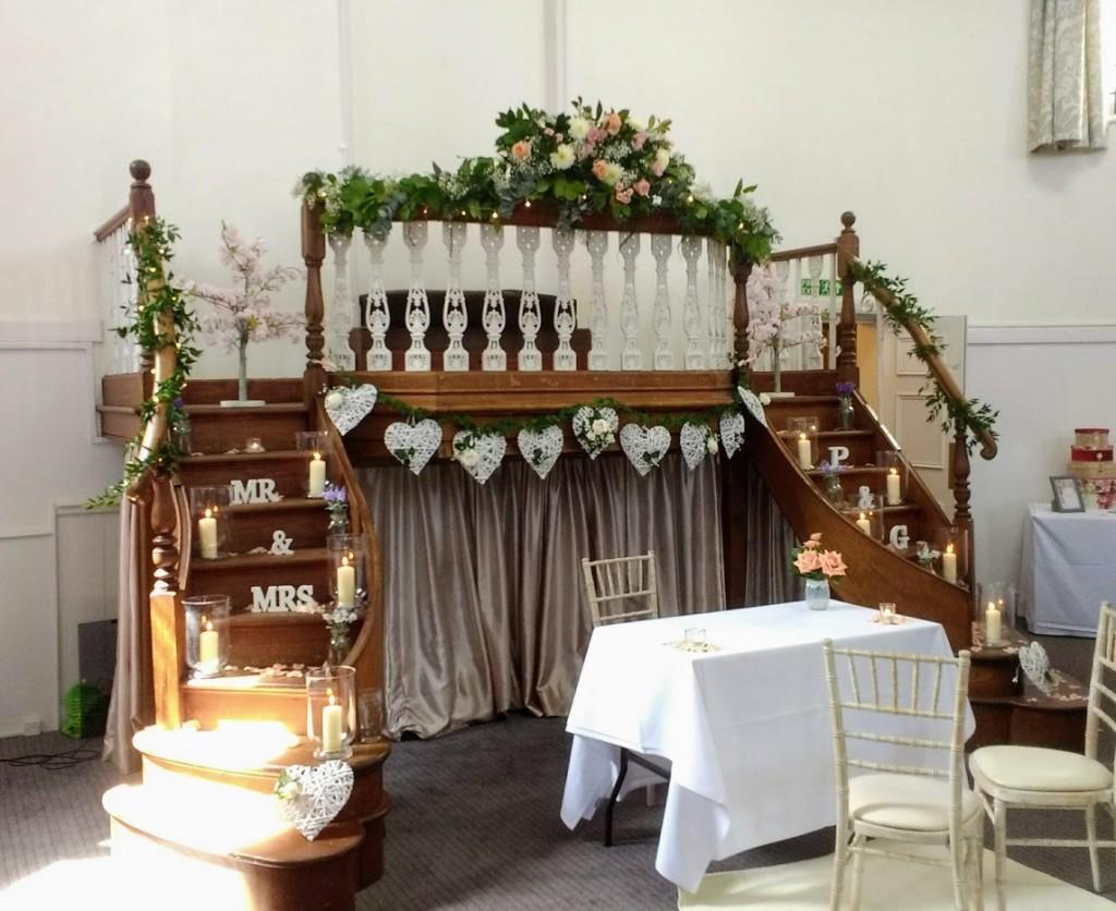 Wedding Ceremony. Kings Chapel, Old Amersham