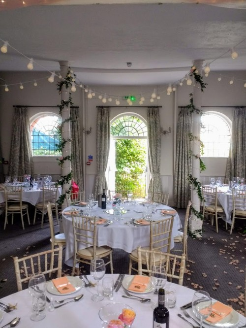 Wedding reception, Kings Chapel