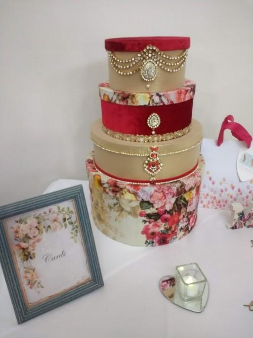 Decorative wedding boxes